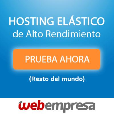 Hosting elastico webempresa