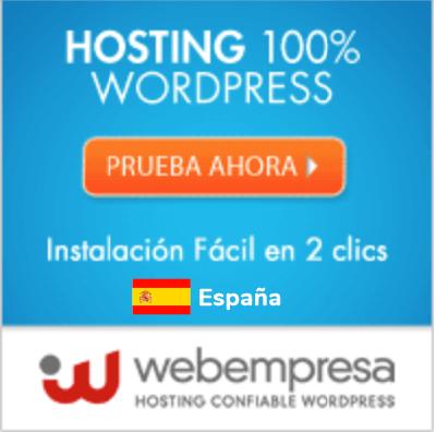 hosting webempresa spain