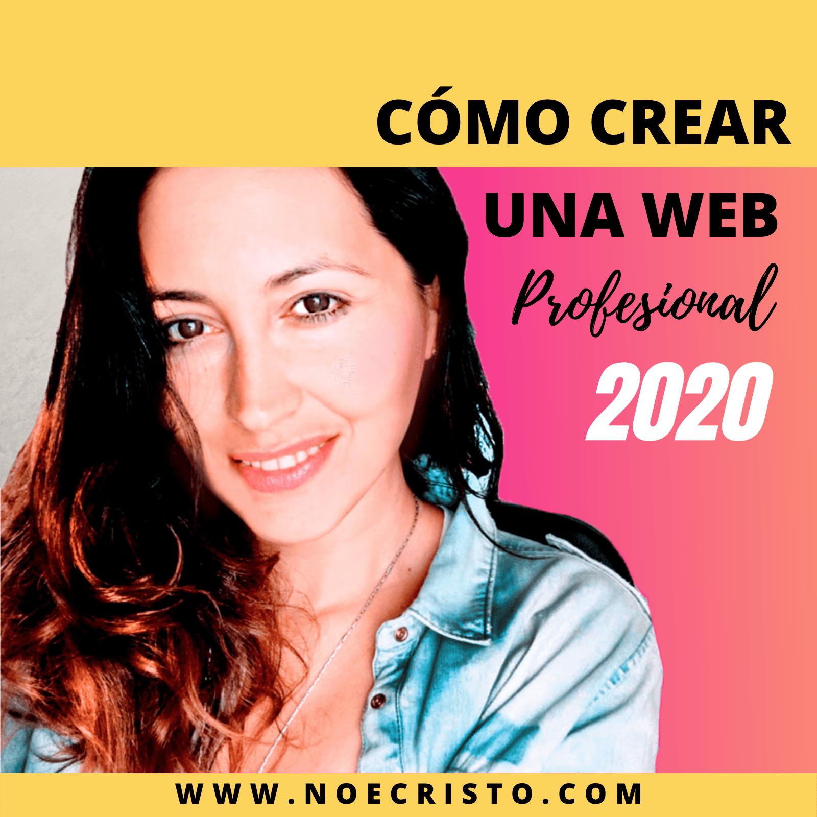 Cómo crear una web profesional